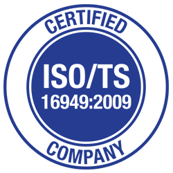 ISO TS-16949 certified (TUV)